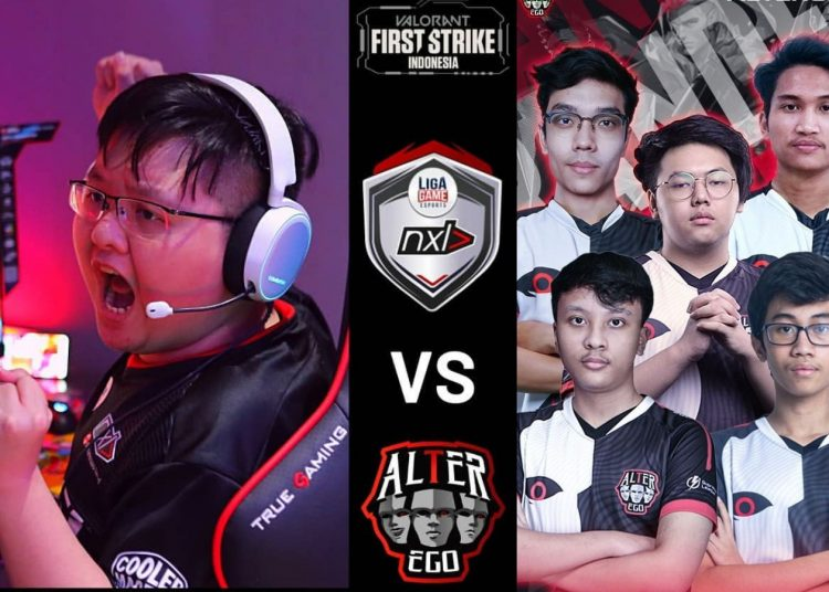 NXL Ligagame Tantang Alter Ego Di Final Valorant First Strike Indonesia